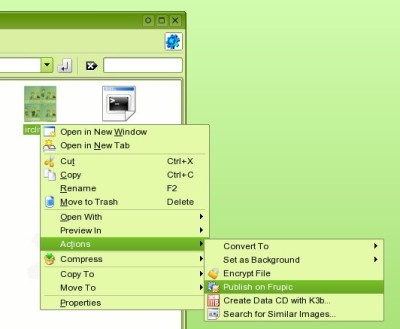 frupic kde-extension